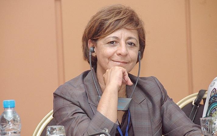 Intervention à Reims de Wafaa Hajji, présidente de l'Internationale socialiste des femmes