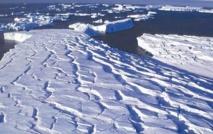 Des sillons  découverts sous la calotte polaire de l'Antarctique