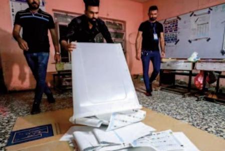 Forte abstention aux législatives anticipées en Irak
