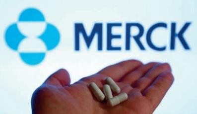 Merck a déposé aux Etats-Unis une demande d'autorisation de sa pilule anti-Covid