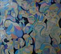 Exposition à Prague des œuvres de l'artiste  plasticien  Abdelilah Rais