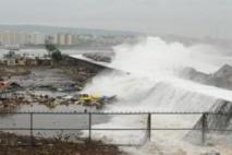 Le cyclone Phailin frappe l'Est de l'Inde