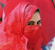 La gent féminine honorée à Marrakech