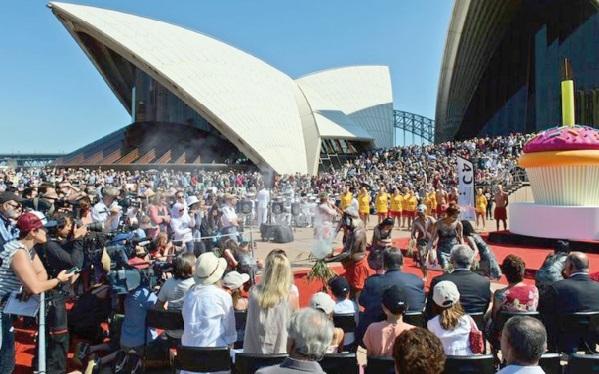 L'opéra de Sydney célèbre ses 40 ans