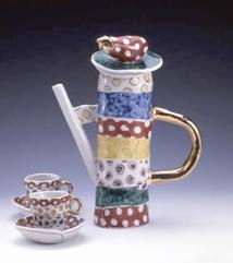 Exposition d'objets d'artisanat contemporain du Japon