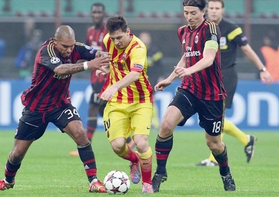 Le choc Milan-Barça accouche d'un nul