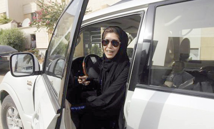 Quand l'émancipation des Saoudiennes passe par le volant