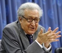 Mission ardue pour Lakhdar Brahimi à Damas pour convaincre des bienfaits de Genève-2