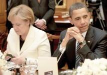 Barack Obama a mis fin  aux écoutes de Merkel