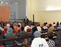 Dr. Marcel Guitoukoulou, responsable politique, rencontre la diaspora congolaise au Maroc