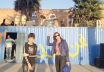 Cont'N'Art  dans la rue … pour l'amour et la paix