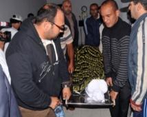 Inhumation à Rabat de feu Allal Ben Kassou