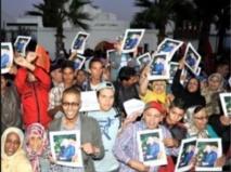 Sit-in à Rabat et Oujda