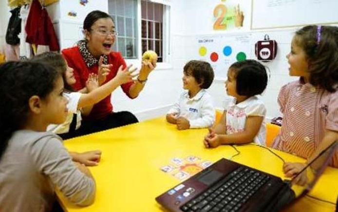En Espagne, des tout-petits apprennent le chinois pour échapper au chômage
