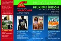 Deuxième édition du Festival du film marocain à Montréal