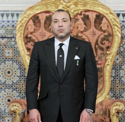 S.M le Roi à l'occasion du 38ème anniversaire de la Marche Verte