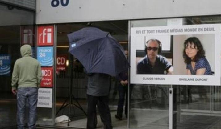 L'enquête sur le meurtre des deux journalistes français progresse