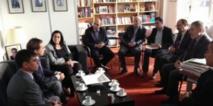 Réunion du Conseil de l'Internationale socialiste