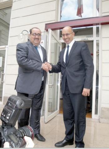 L'USFP et le PS français conviennent de renforcer leurs relations