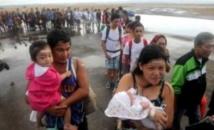 Colère  des survivants du typhon aux Philippines