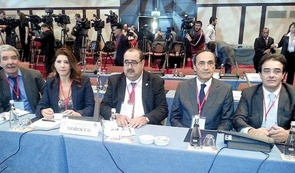Participation déterminante de l'USFP au Conseil de l'Internationale socialiste