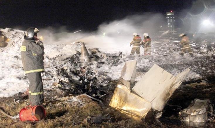 Mystérieux crash d'un Boeing 737 en Russie