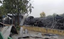 Incendie à Bab Semarine à Fès