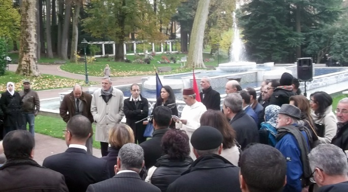 La société civile marocaine célèbre le 58ème anniversaire de l'Indépendance du Maroc à Aix-les-Bains