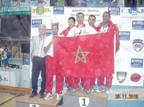 Une médaille amplement méritée pour l'équipe du Maroc