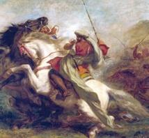 Delacroix s'expose en Californie autour d'une toile récemment découverte