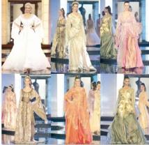 """Le caftan marocain fait sensation aux célèbres """"Samedis de la mode"""""""