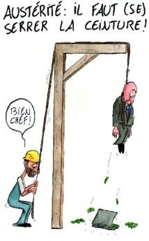 L'austérité frappe de plein fouet la majorité des budgets ministériels