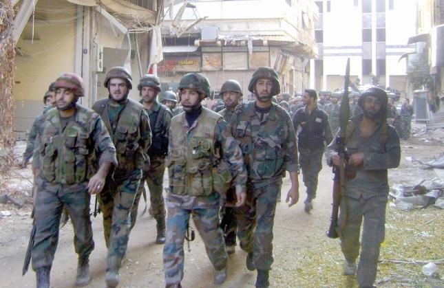 Violents tirs d'artillerie de l'armée contre une région clé près de Damas