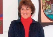 L'artiste peintre Khadija Zizi expose à Essaouira