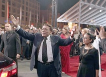 Adel Imam foule le tapis rouge