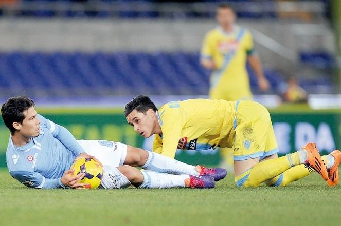 Naples s'offre la Lazio