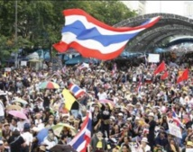 Reprise des manifestations en Thaïlande