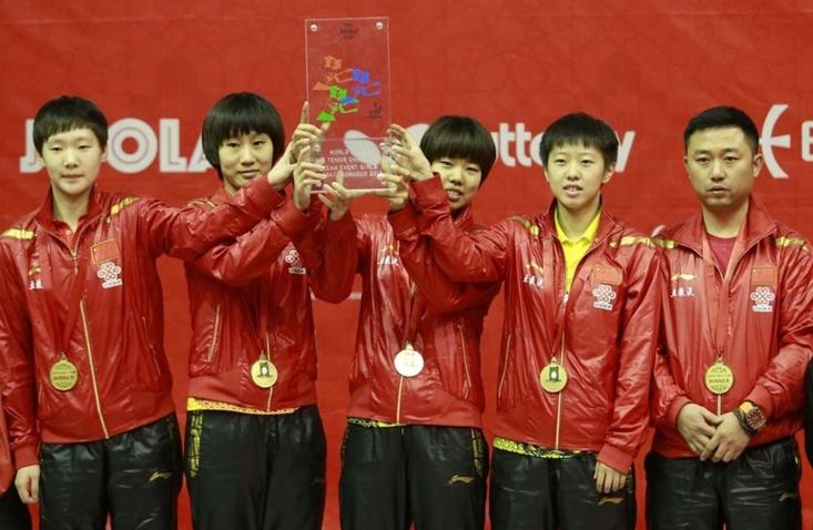 Les pongistes chinois raflent la mise