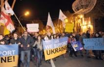 Les manifestants tiennent bon à Kiev