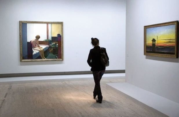 Record pour un tableau d'Edward Hopper à 40,5 millions de dollars