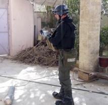 L'ONU confirme l'utilisation d'armes  chimiques  en Syrie
