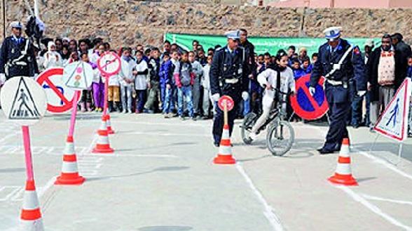 Campagne de prévention à la sécurité routière en milieu scolaire