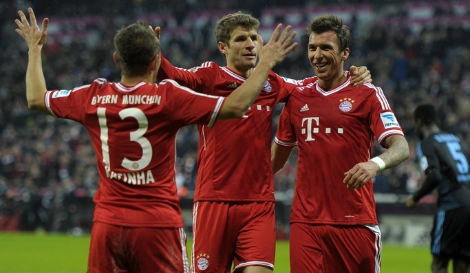 Bayern champion d'automne, festival City-Arsenal