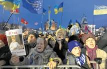 Mobilisation de l'opposition pro-UE en Ukraine