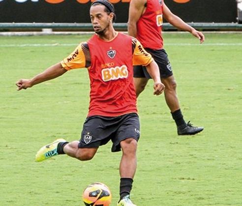 Entraînement spécifique pour Ronaldinho