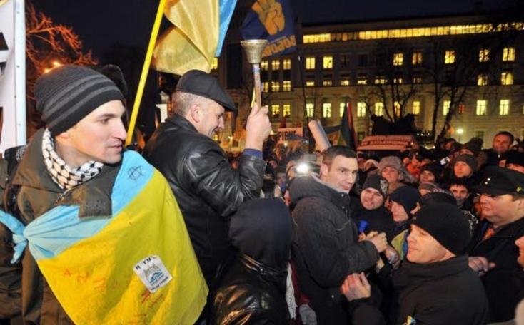 La mobilisation de l'opposition ukrainienne se poursuit