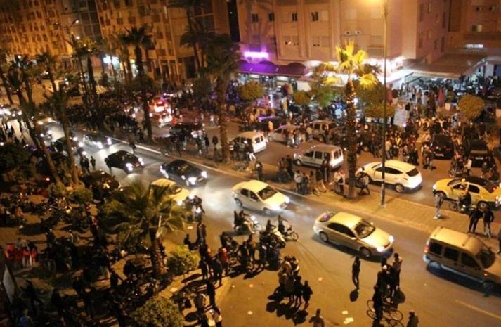 Tout Marrakech dans la rue