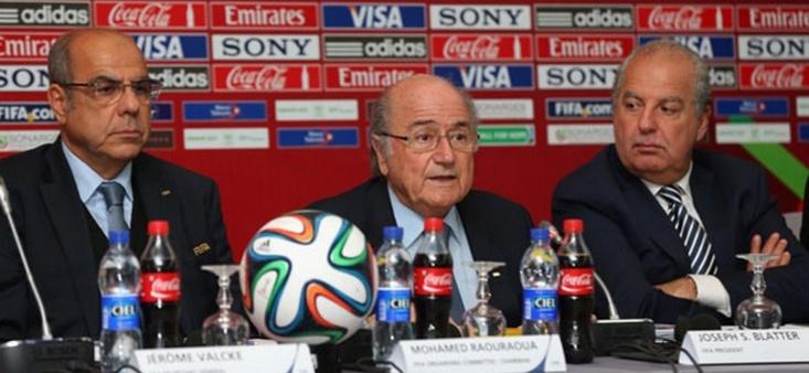 """Blatter : """"Un héritage pour l'avenir"""""""