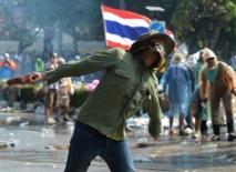 Bangkok toujours en proie à des manifestations antigouvernementales