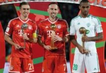 Ribéry, Lahm et Iajour récompensés